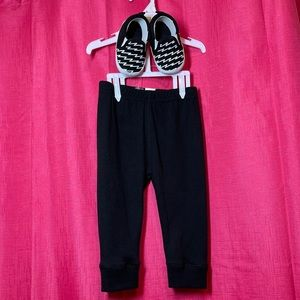 👶 6/9 month pants & shoes NWT